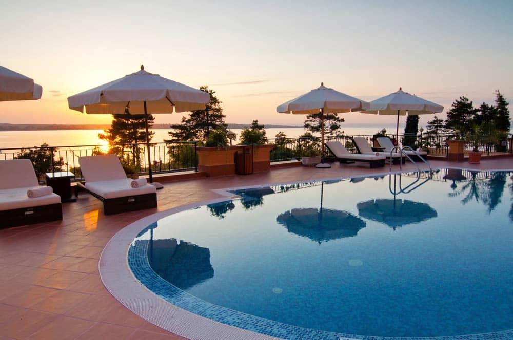 Swimming Pool Of Luxury Resort
